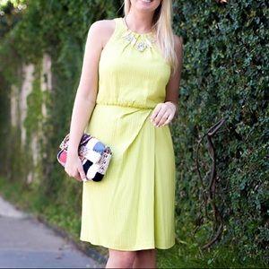 Lela Rose Citron Sheath Dress